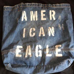 American eagle tote bag:)
